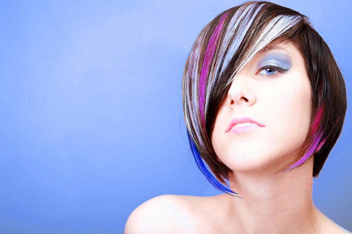 Покраска волос колорирование