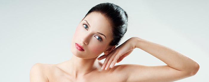 Красивая кожа после мануальной чистки лица