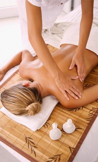 Лечебный массаж спины при остеохондрозе