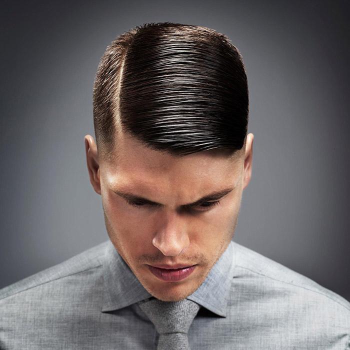 Фото модельной причёски