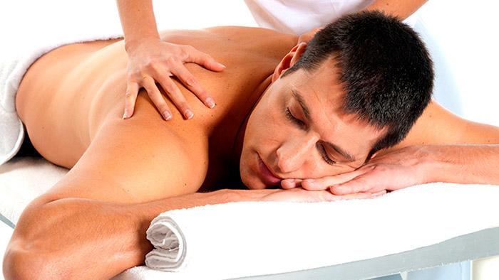Спортивный массаж спины в салоне Акварель