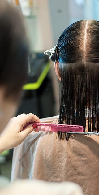Укладка волос, цена в салоне Акварель