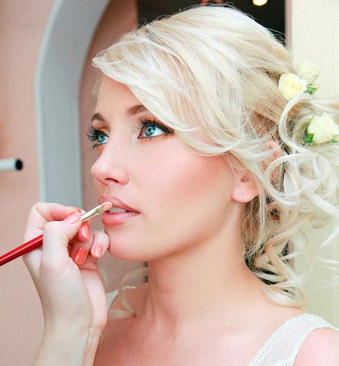 Свадебный макияж в Акварели