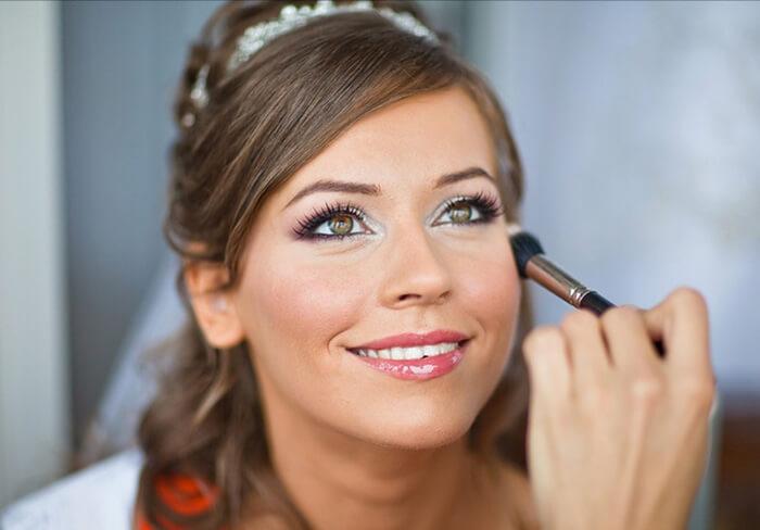 Профессиональный свадебный макияж в салоне Акварель