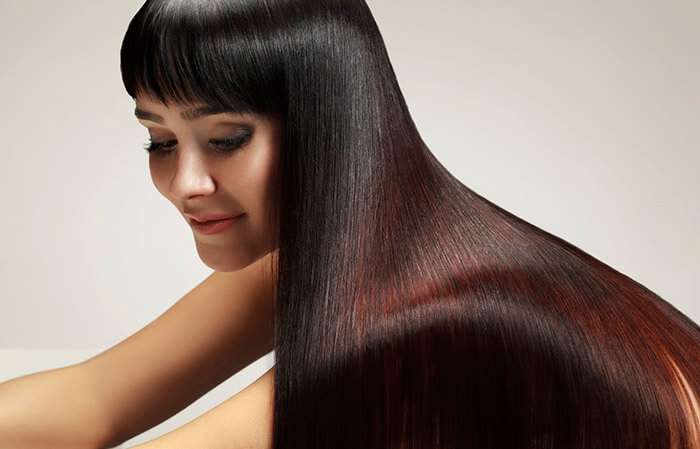 Эффект от кератинового выпрямления волос